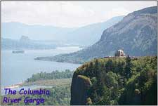 The Columbia Gorge.